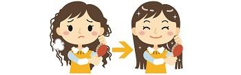 女性の薄毛 髪の99%は「タンパク質」から出来ている!!